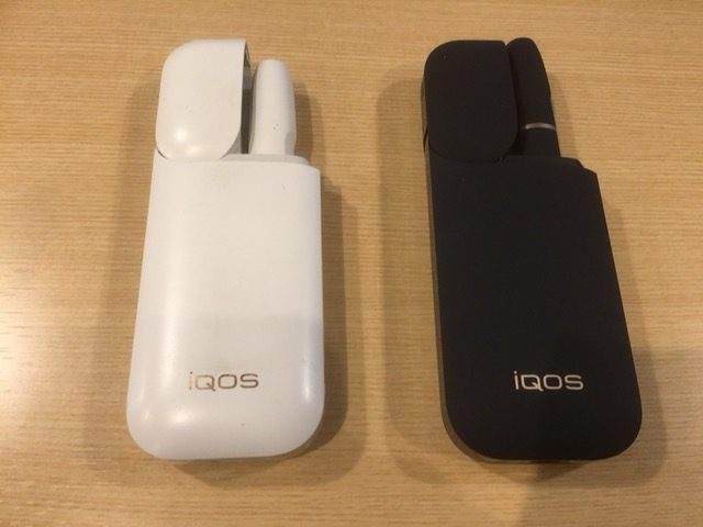 2台のアイコス