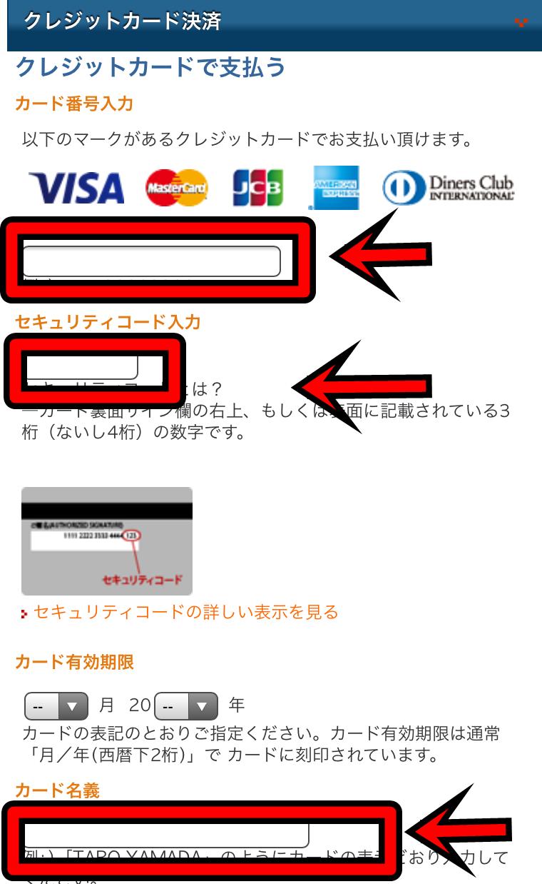 アイコス公式サイトの購入画面17