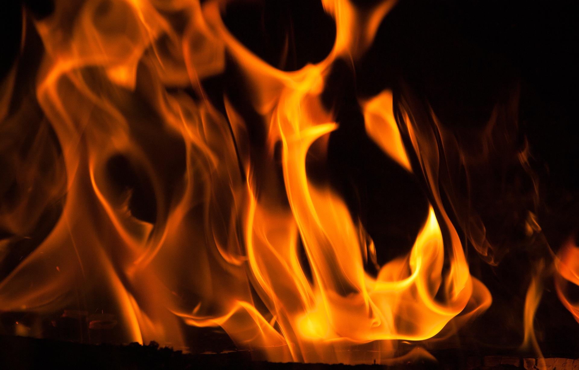火災発生の現場