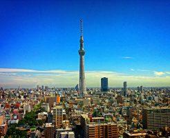 東京都内の街並み