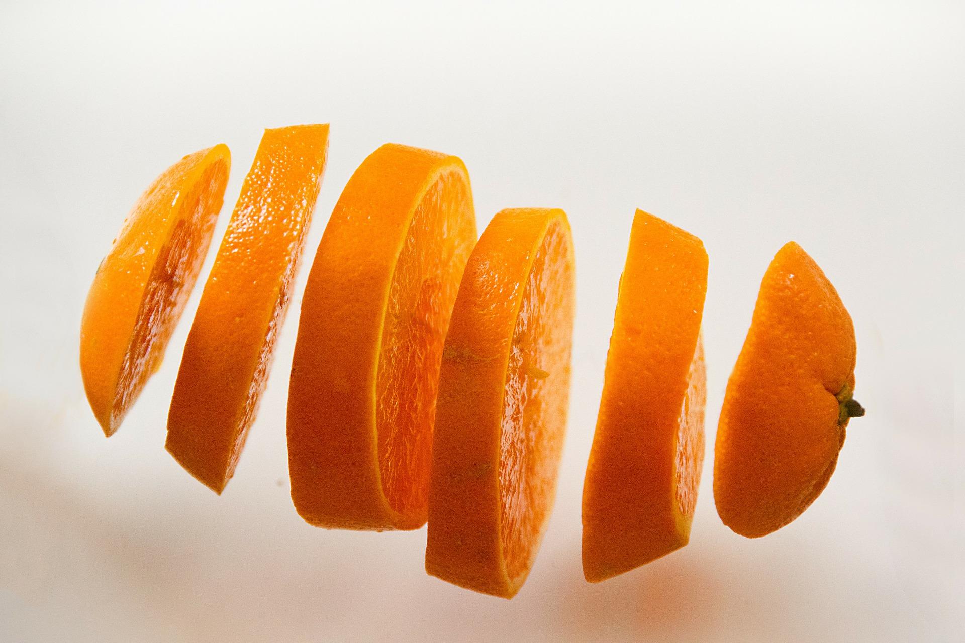 フルーツのオレンジ
