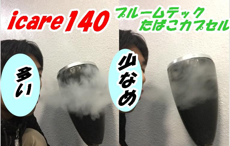 煙の量icare140