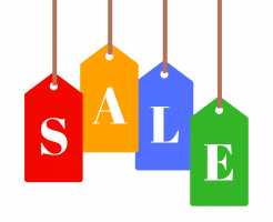 グローを安く買う方法を表すsale値札