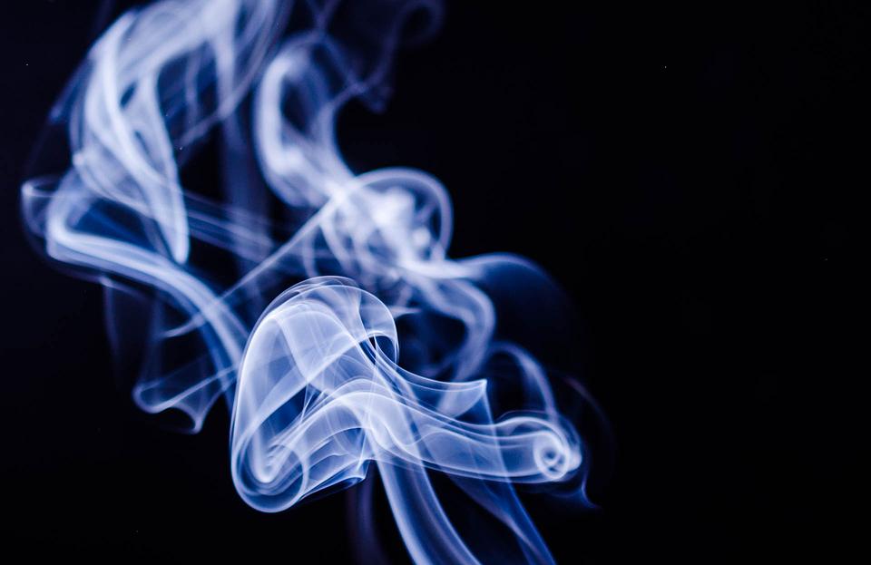 プルームテックを吸った煙