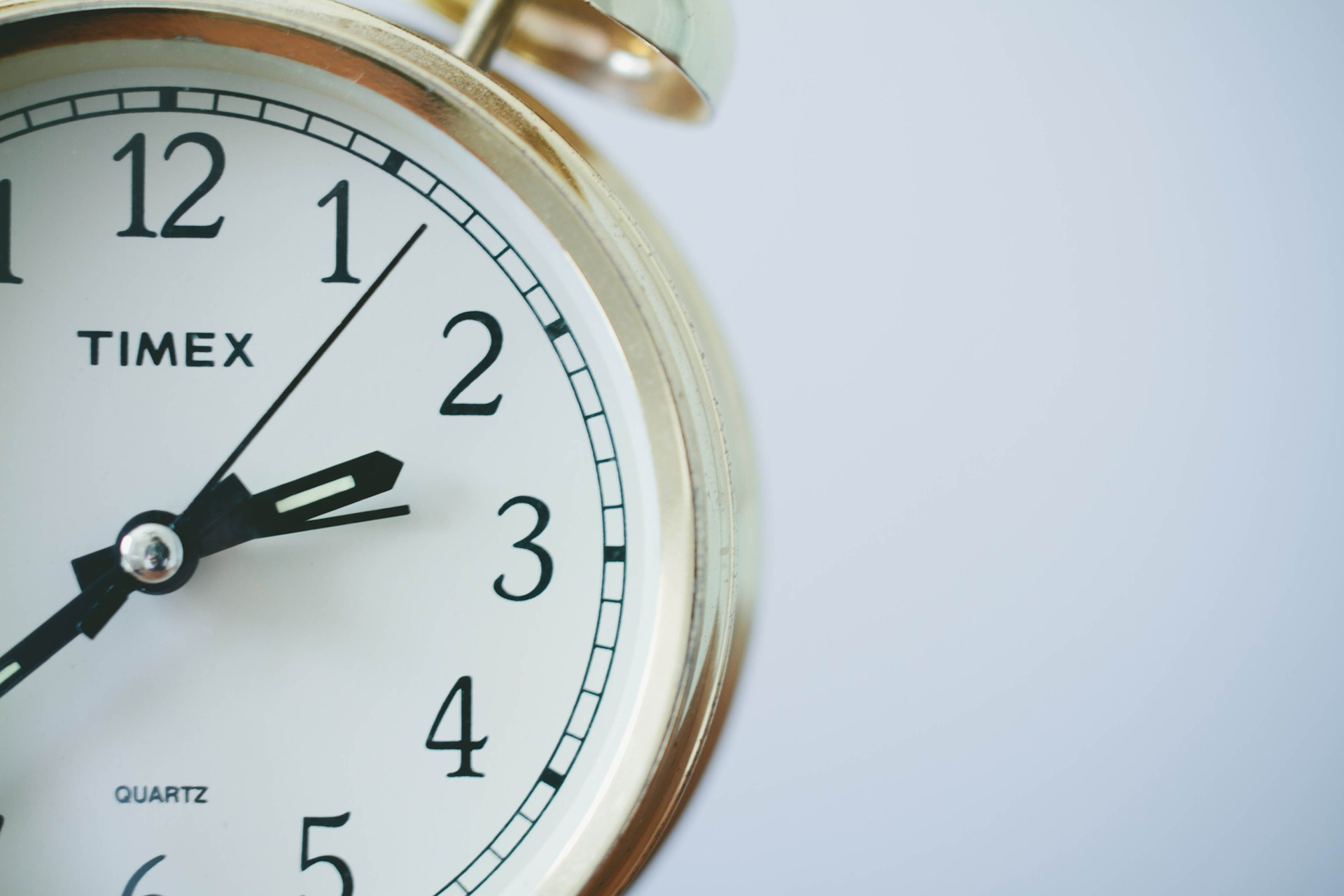 グローの充電時間を測る時計
