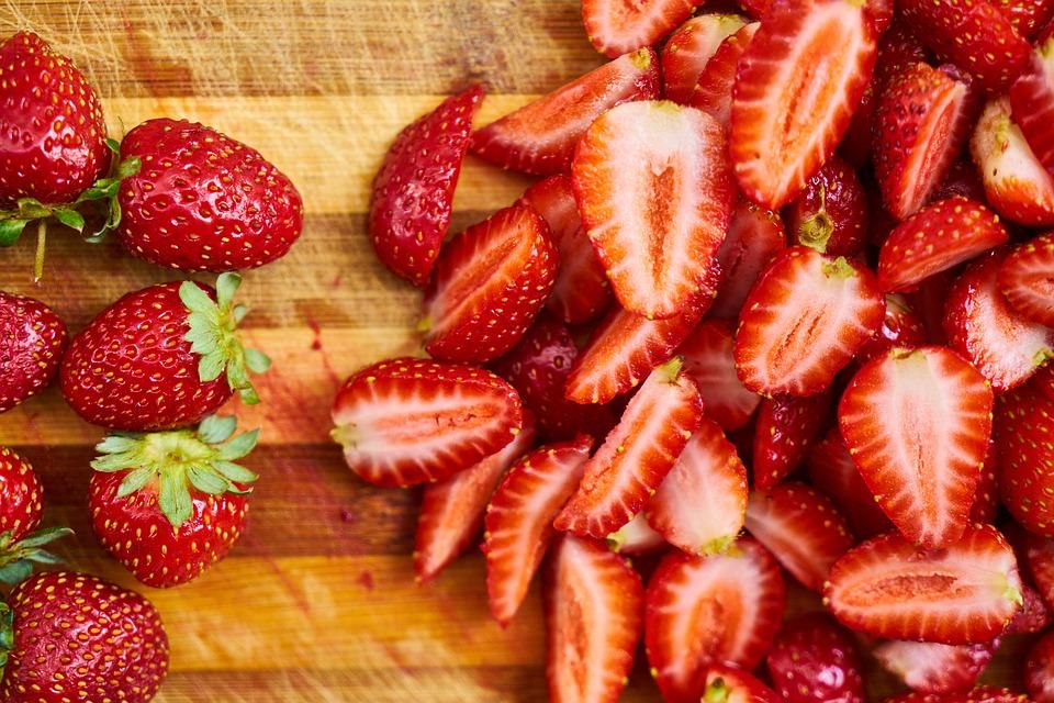 ビタミンが豊富ないちご