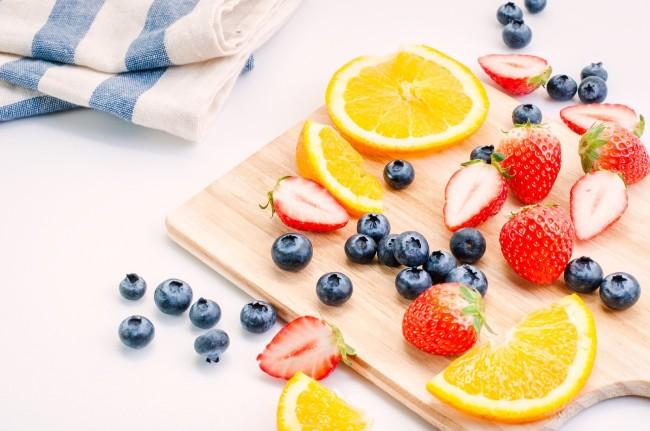 果物と野菜でビタミンをとる
