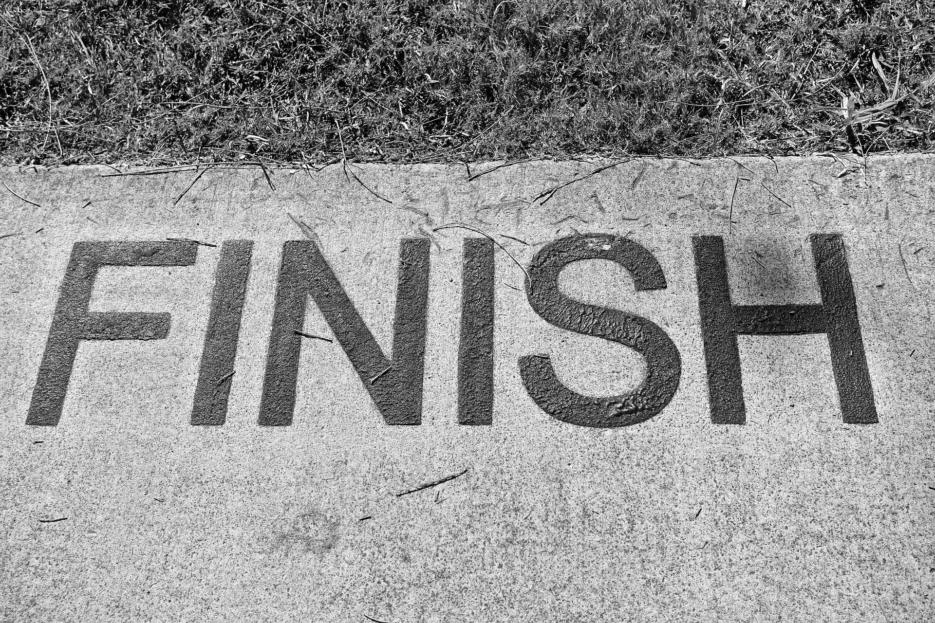 finish