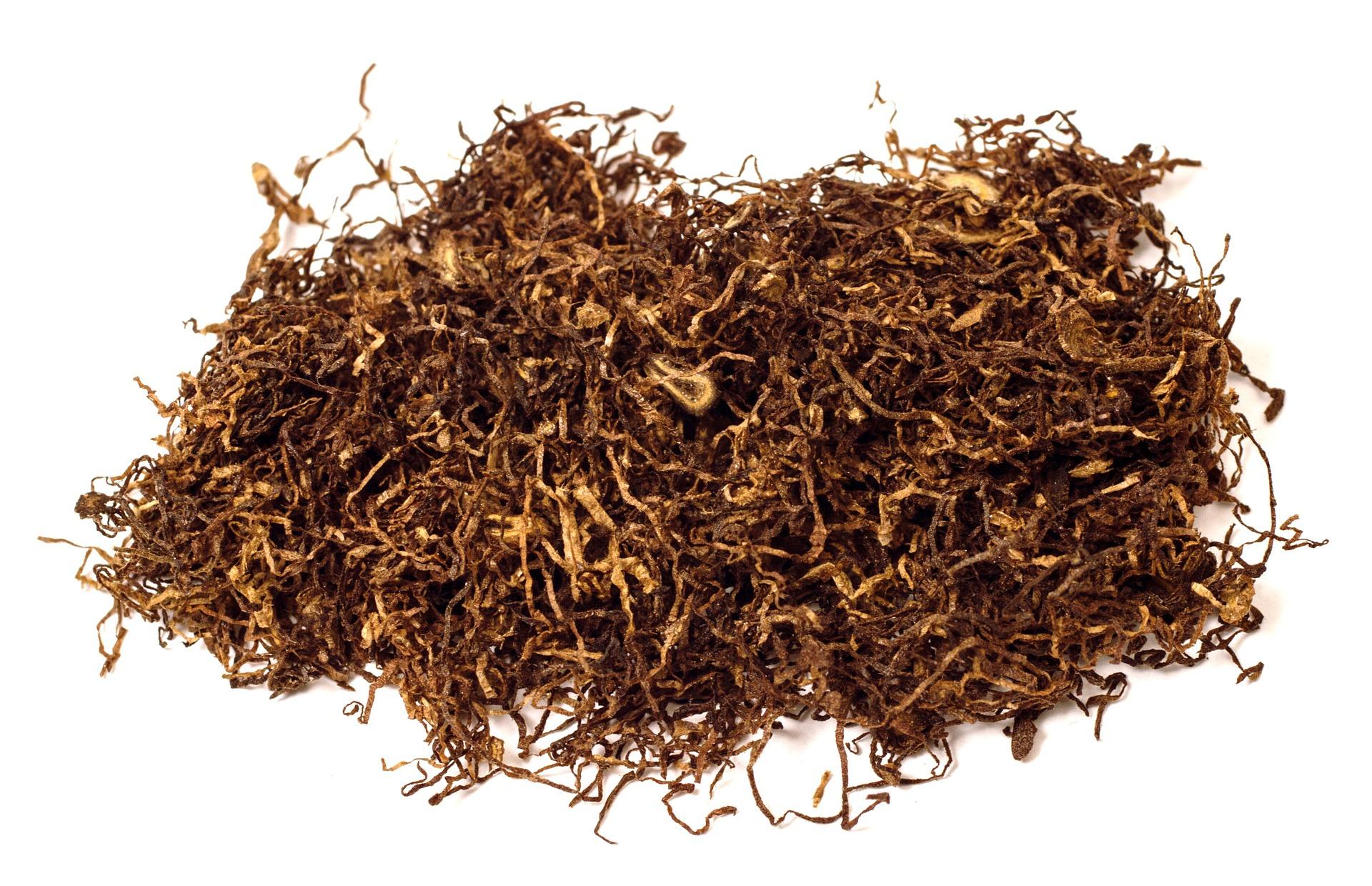 タバコ葉の量