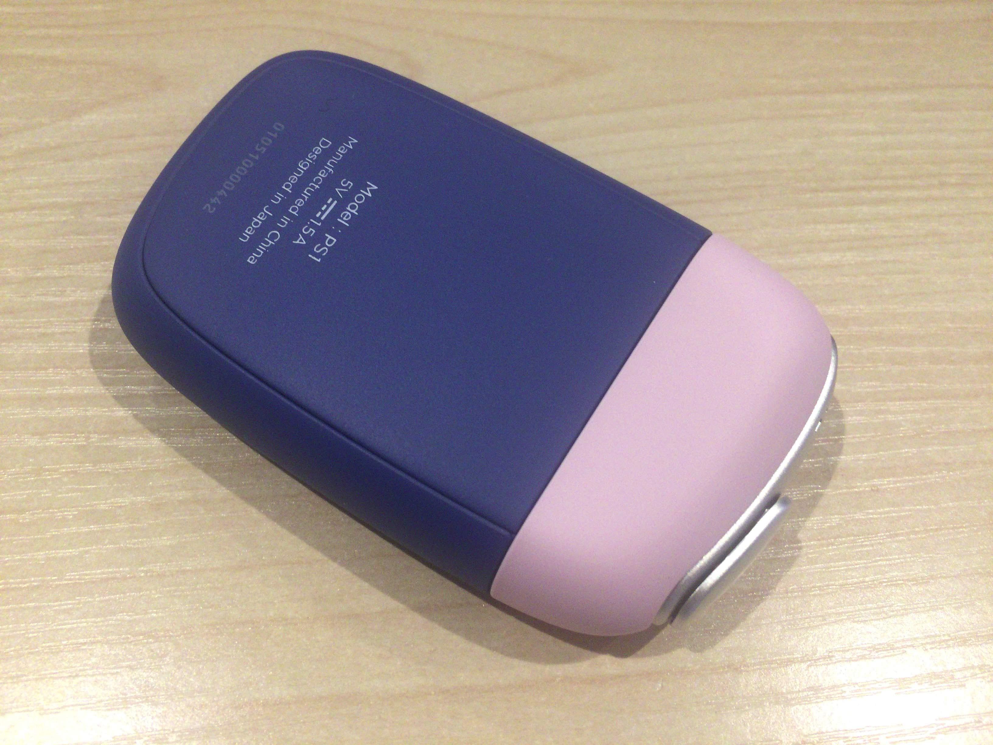 プルームエスの青色、ピンク2