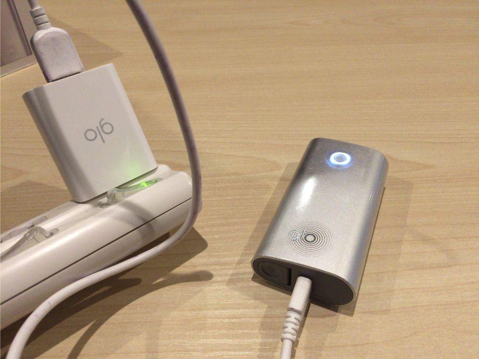 グローの充電のやり方