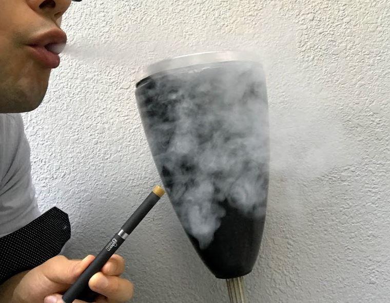 プルームテック爆煙カートリッジの煙の量