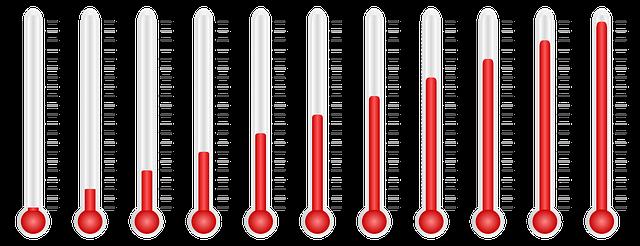 グローの温度