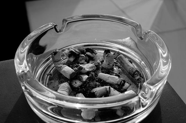 加熱式タバコの吸い殻