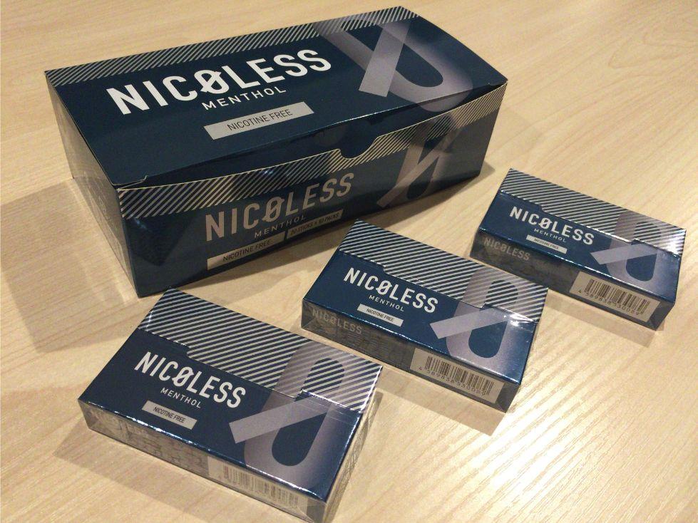 nicolessはニコチンがない