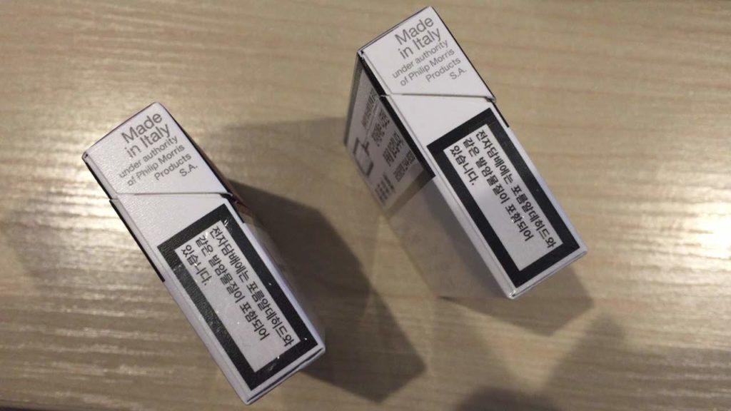 アイコスの韓国版の製造国