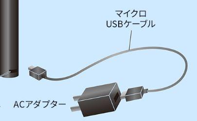 プルームテックプラスが充電できないのは、USBケーブル