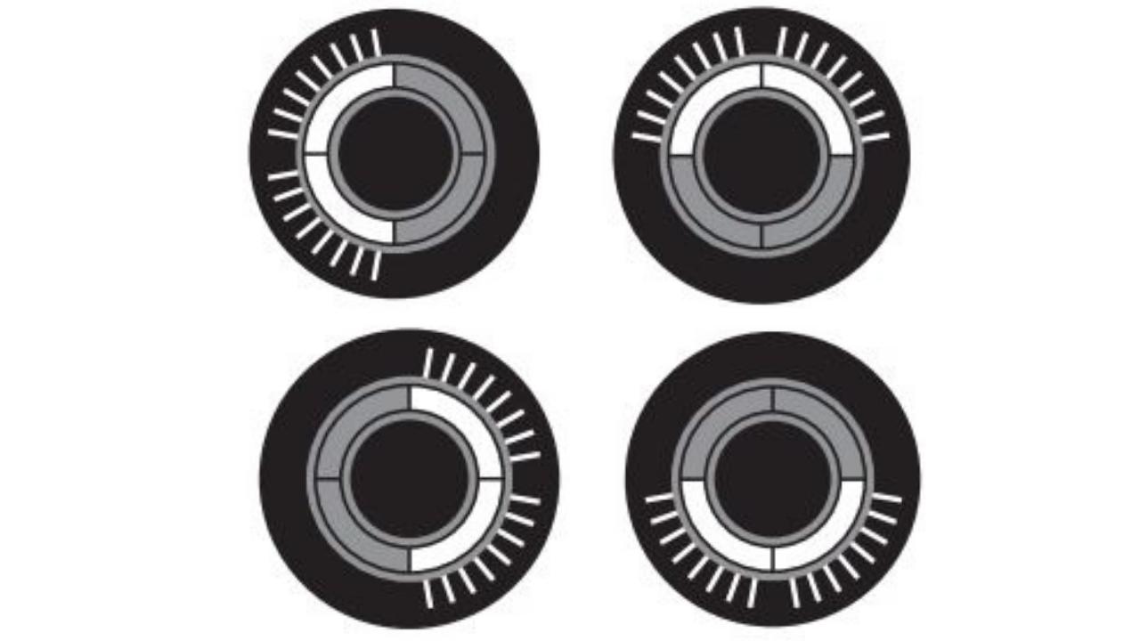 グローハイパーの点滅パターン