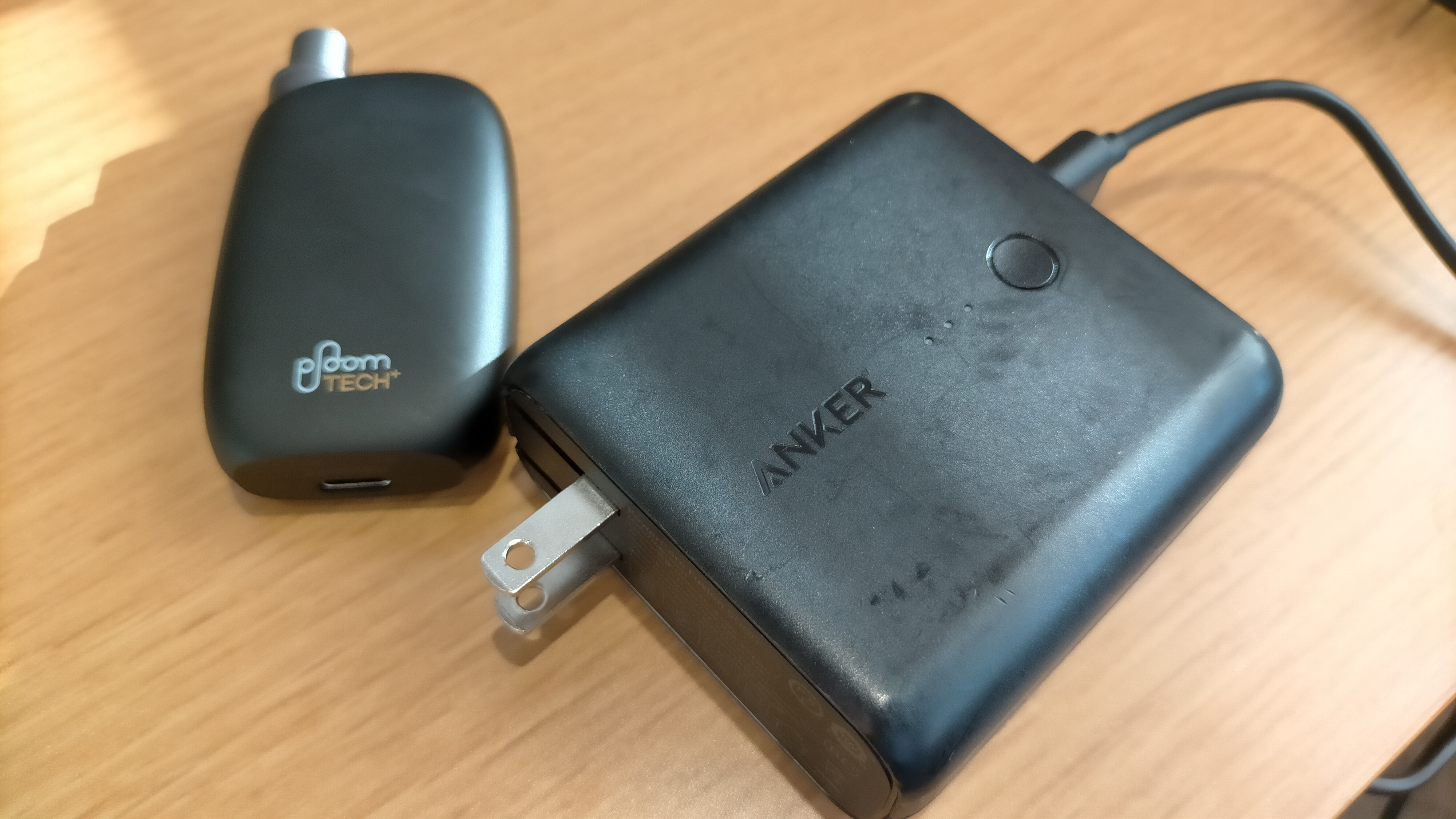 プルームテックプラスウィズが充電モバイルアダプター