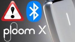 プルームXがBluetooth接続できない