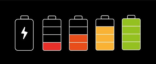 プルームXのバッテリー残量確認