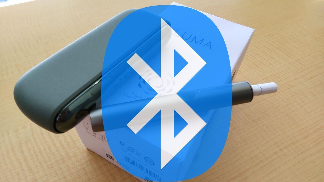 アイコスイルマの使い方(Bluetooth設定)