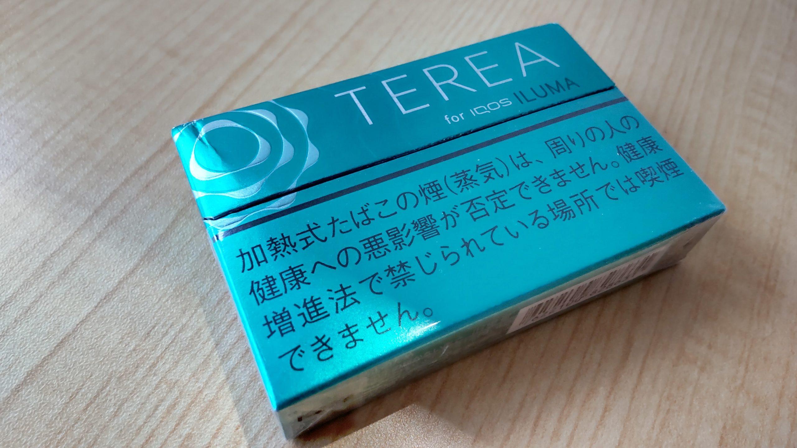 アイコスイルマのテリア「メンソール味」
