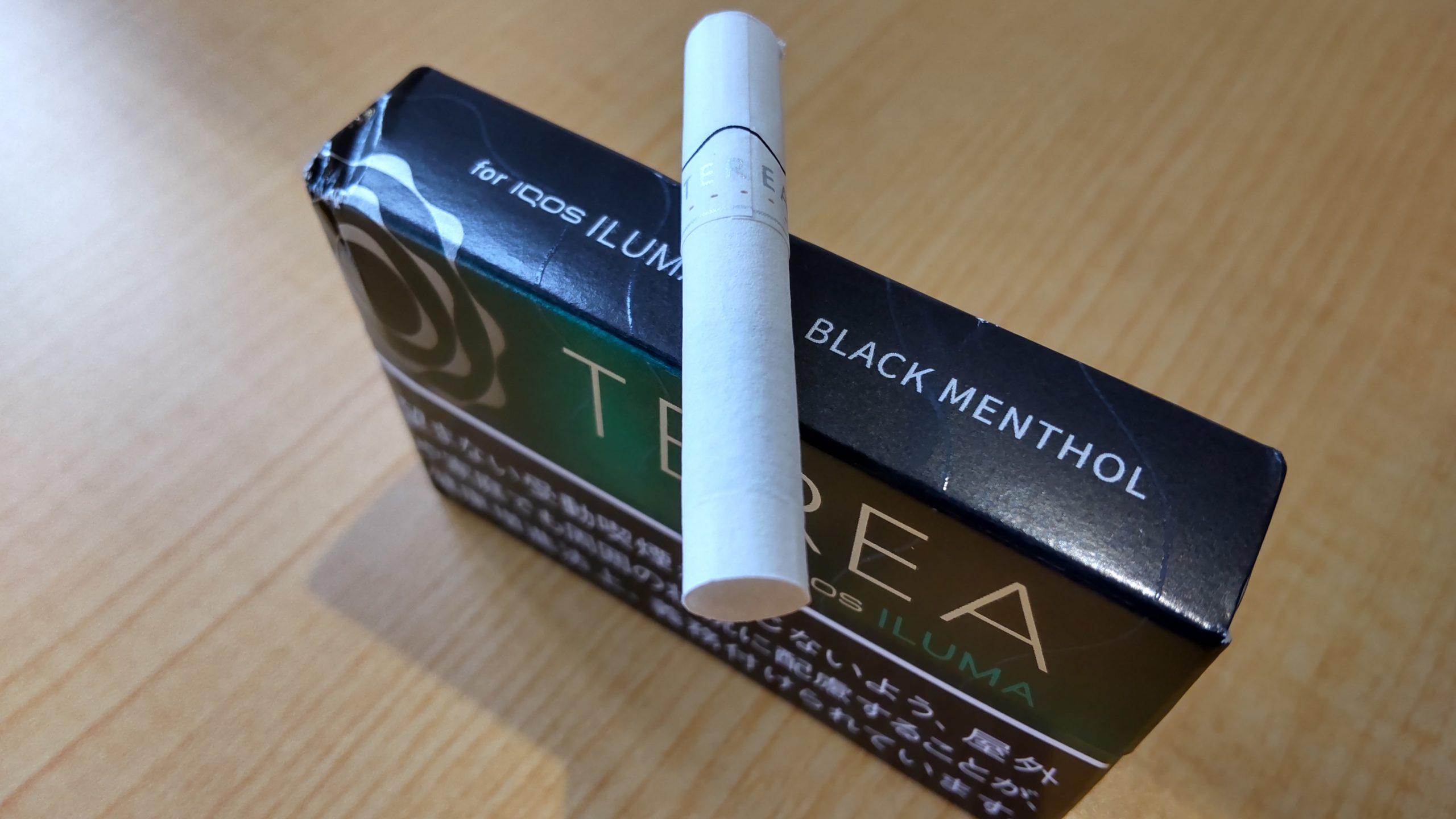 アイコスイルマのテリアスティック「ブラック メンソール味」